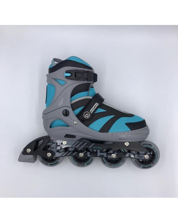 Patines Linea Chicago Azul