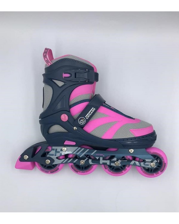 Patines Linea Chicago Rosa
