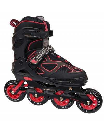 Patines Chicago SS-172 Rojo
