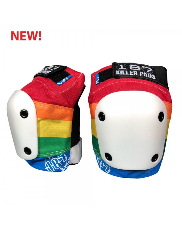 Rodillera Slim Knee Rainbow