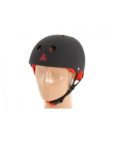 Casco T8 Brainsaver Black Red