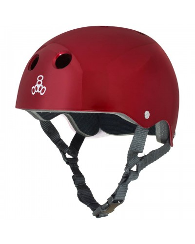 Casco Standard T8 Red Metallic