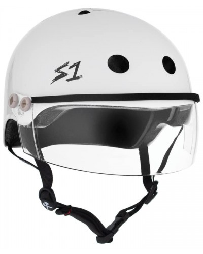 S-One Lifer Visor White Gloss