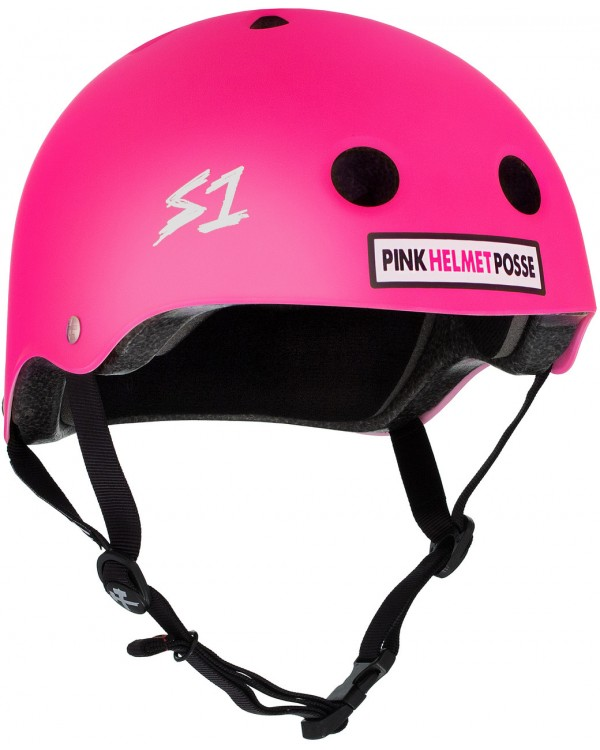 S-One Lifer Pink Helmet Possee