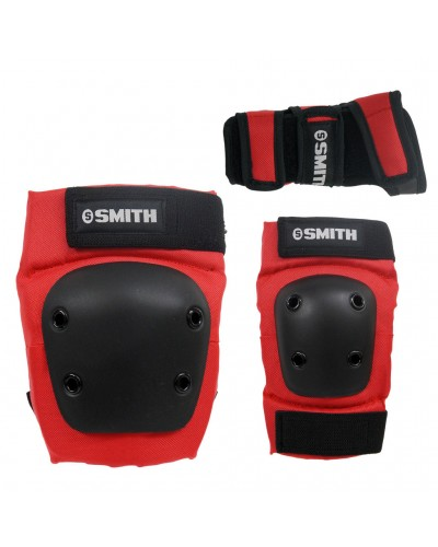 Set Smith Scabs Rojo 3paq