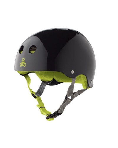 Casco T8 Black Glossy Green
