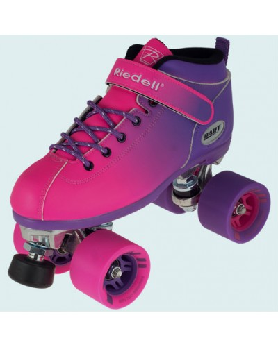 Riedell Dart Ombre Purple Pink