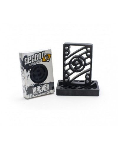 Sector 9 Risers 1/2""