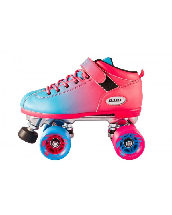 Riedell Dart Ombre Pink Blue