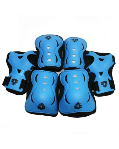 Set Protecciones Flying Eagle Azul