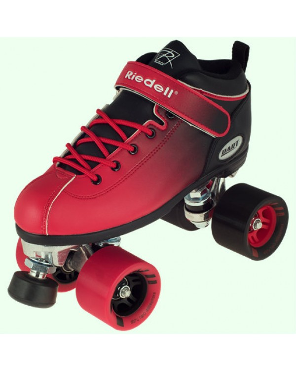 Riedell Dart Ombre Black Red